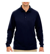 Mens Tall Pinnacle Performance Long-Sleeve Polo