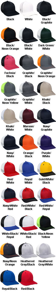 Stretch Mesh Proflex® Back Panel Cap - All Colors