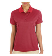 Custom Ladies Express Microstripe Pique Polo