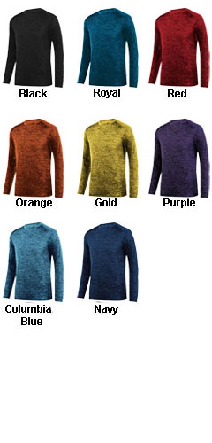 Adult Intensify Black Heather Long Sleeve Tee - All Colors