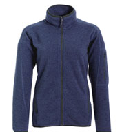 Custom Landway Ladies Ashton Sweater Knit Fleece
