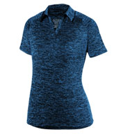 Ladies Intensify Black Heather Sport Shirt