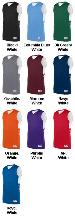 Adult Alley-Oop Reversible Jersey - All Colors