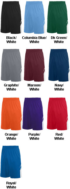 Adult Alley-Oop Reversible Short - All Colors