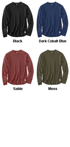 Carhartt Tilden Long Sleeve Crewneck - All Colors