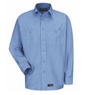 Custom Mens Long Sleeve Work Shirt
