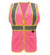 Custom Economy Two-Tone  Ladies Vest