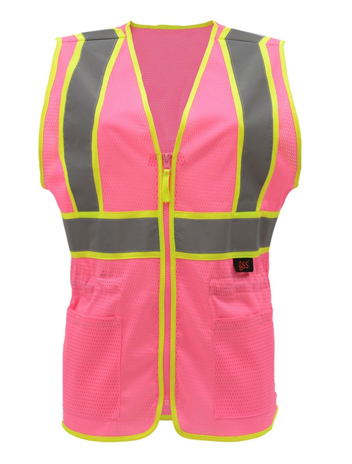 GSS Safety Ladies Economy Two-Tone  Vest