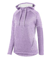 Custom Ladies Zoe Tonal Heather Hoodie