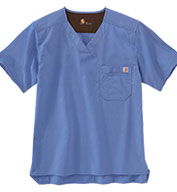 Custom Carhartt Medical Mens Solid Ripstop Utility Top
