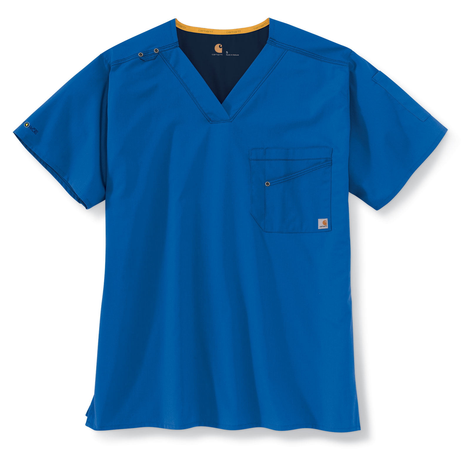 Carhartt Medical Mens V-Neck Multi-Pocket Top