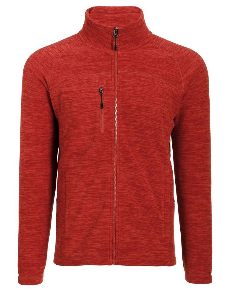 Mens Cascade Marled Fleece Jacket