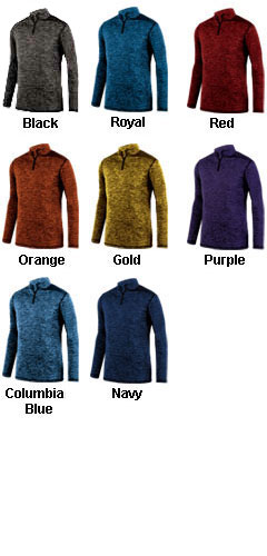 Youth Intensify Black Heather 1/4 Zip Pullover - All Colors