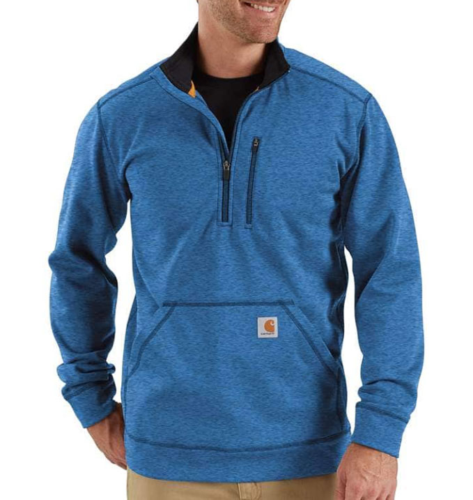 Carhartt Force Extremes™ Mens 1/2-Zip Sweatshirt