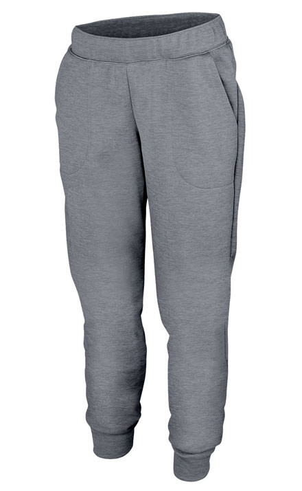 ef836ac2a5715a Ladies Tonal Heather Fleece Jogger - Design Online or Buy It Blank