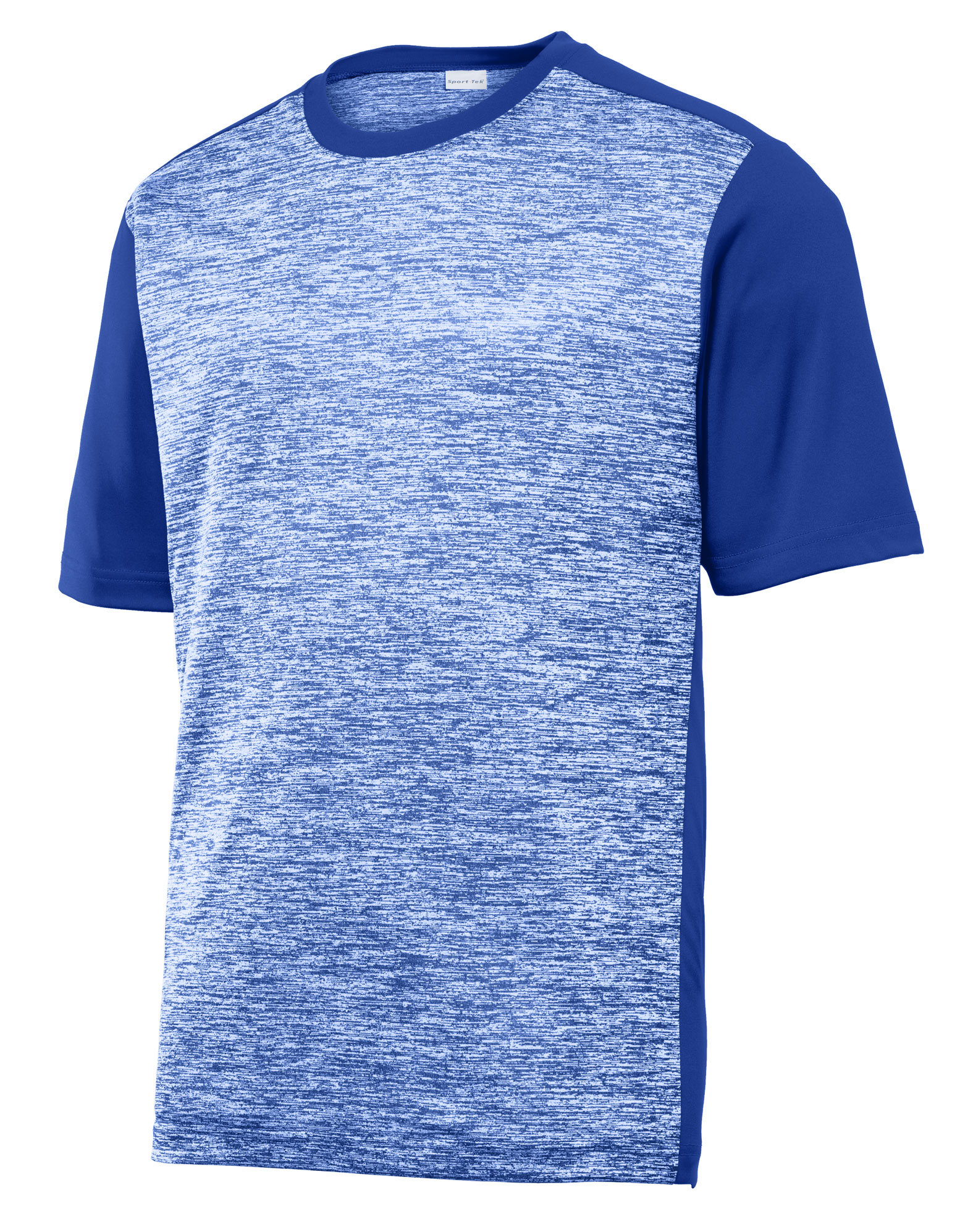 Adult PosiCharge® Electric Heather Colorblock Tee