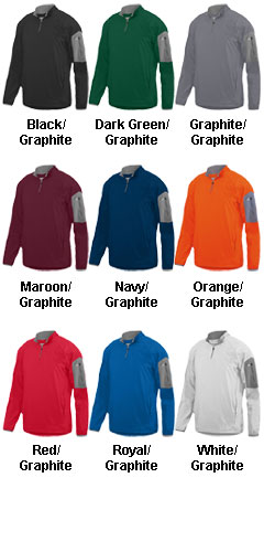 Adult Preeminent Half-Zip Pullover - All Colors
