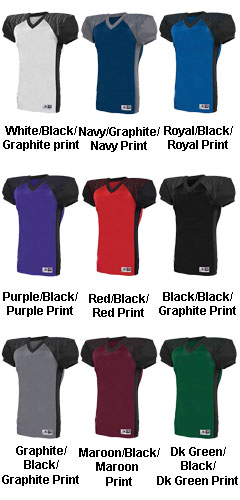 Adult Zone Play Football Jersey - All Colors