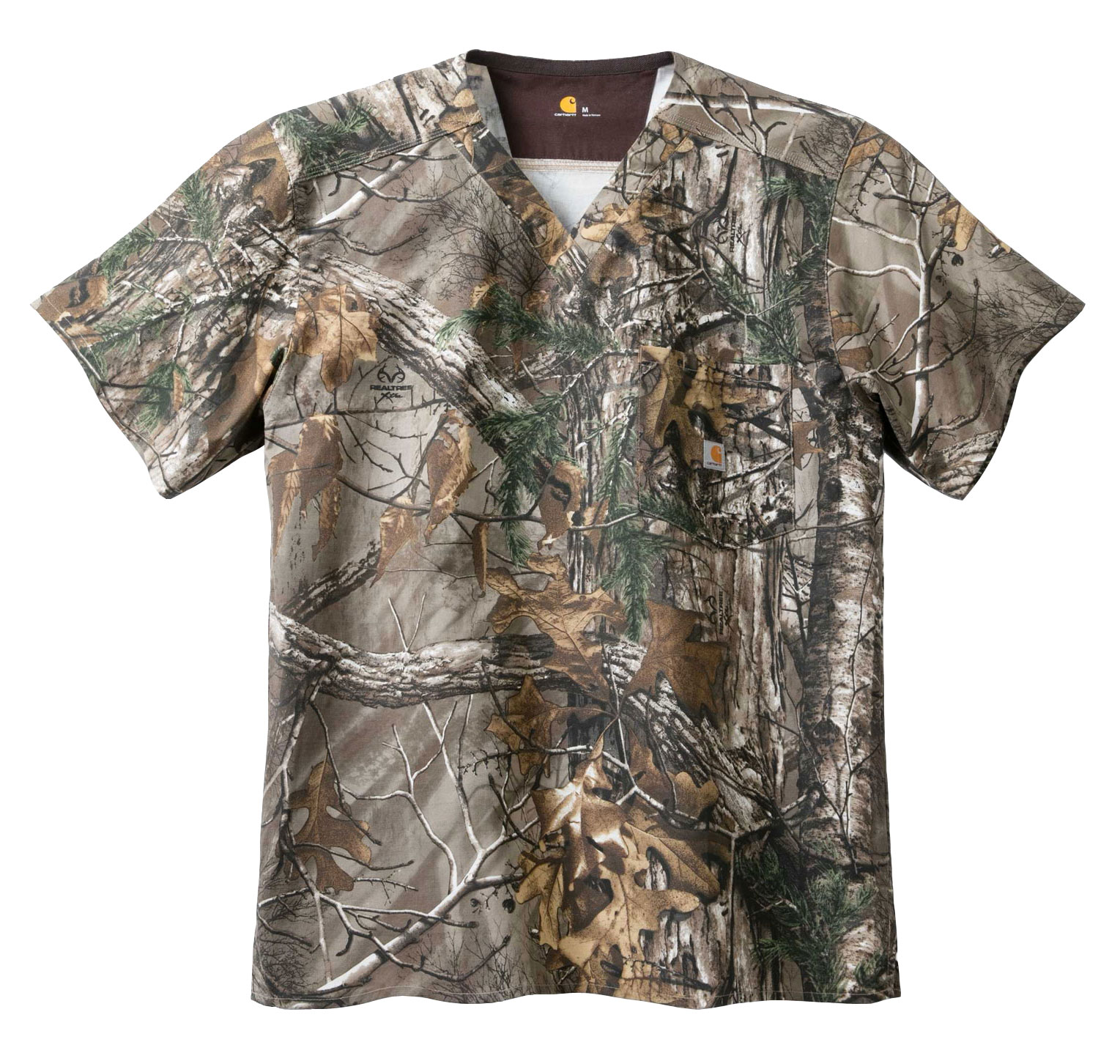 Carhartt Medical Mens One Pocket Print Top