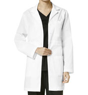 Custom Womens Basic Lab Coat from Wonder Work