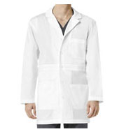 Custom Wonder Work Mens Basic Lab Coat