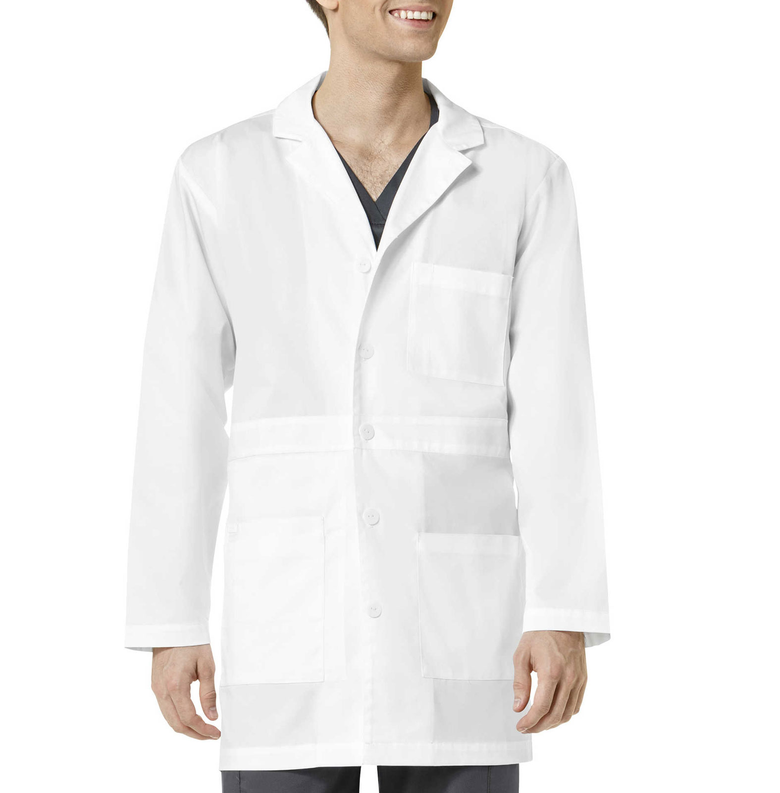Wonder Work Mens Basic Lab Coat