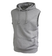 Custom Pennant Adult Sleeveless Fleece Hoodie