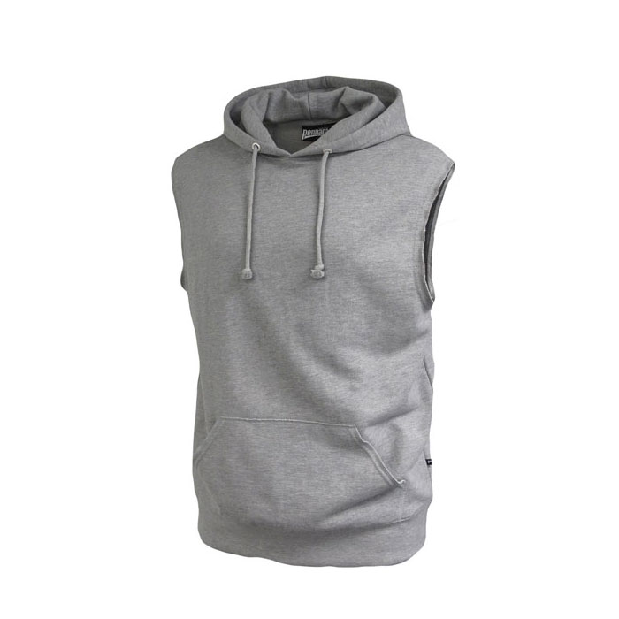 Pennant Adult Sleeveless Fleece Hoodie