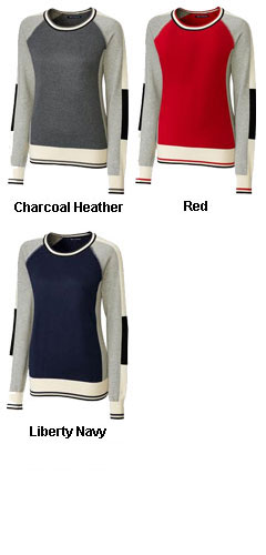 Ladies Stride Colorblock Sweater - All Colors
