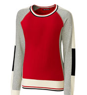 Custom Ladies Stride Colorblock Sweater