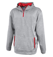 Custom Pennant Adult Linear 1/4 Zip Hoodie