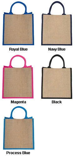 Medium Jute Gift Tote - All Colors