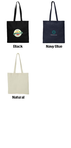 Economy Canvas Tote - All Colors