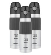 Custom Thermos® Hydration Bottle with Rubber Grip