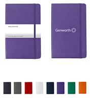 Custom Moleskine® Hard Cover Ruled Large Notebook
