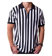 Custom Mens Referee Zip Up Collar