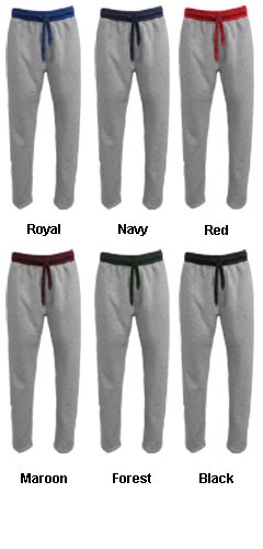 Adult Contrast Sweatpant  - All Colors