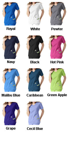 Womens V-Neck Top - All Colors