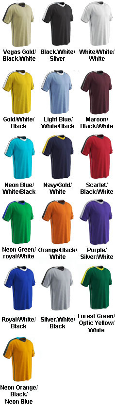 Adult Mark Soccer Jersey - All Colors