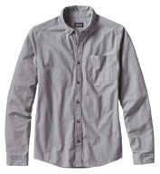 Custom Patagonia Mens Long-Sleeved Bluffside Shirt