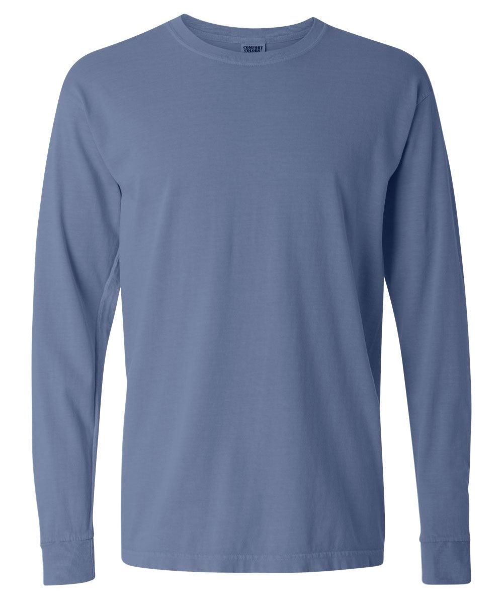 Adult Heavyweight Ringspun Long Sleeve T-Shirt