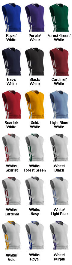 Womens Muscle Dri-Gear Basketball Jersey - All Colors