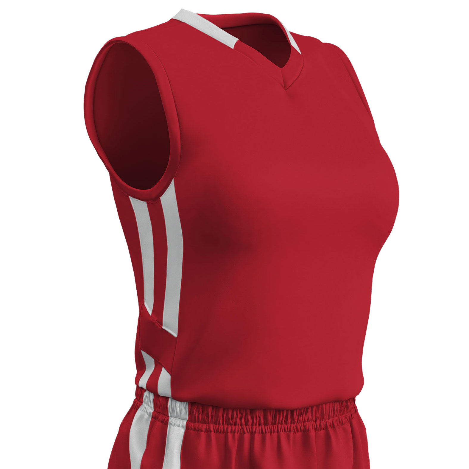 Womens Muscle Dri-Gear Basketball Jersey