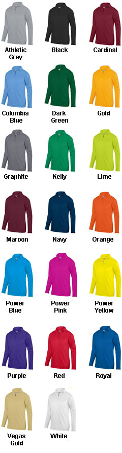 Adult Wicking Fleece Pullover - All Colors