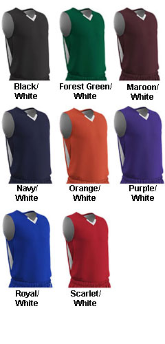 Youth Pivot Reversible Basketball Jersey - All Colors
