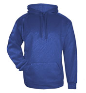 Custom Badger Mens Line Embossed Hood