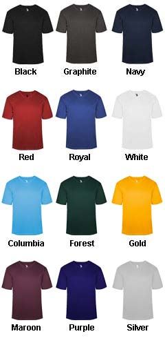 Adult B-Core V-Neck Tee - All Colors