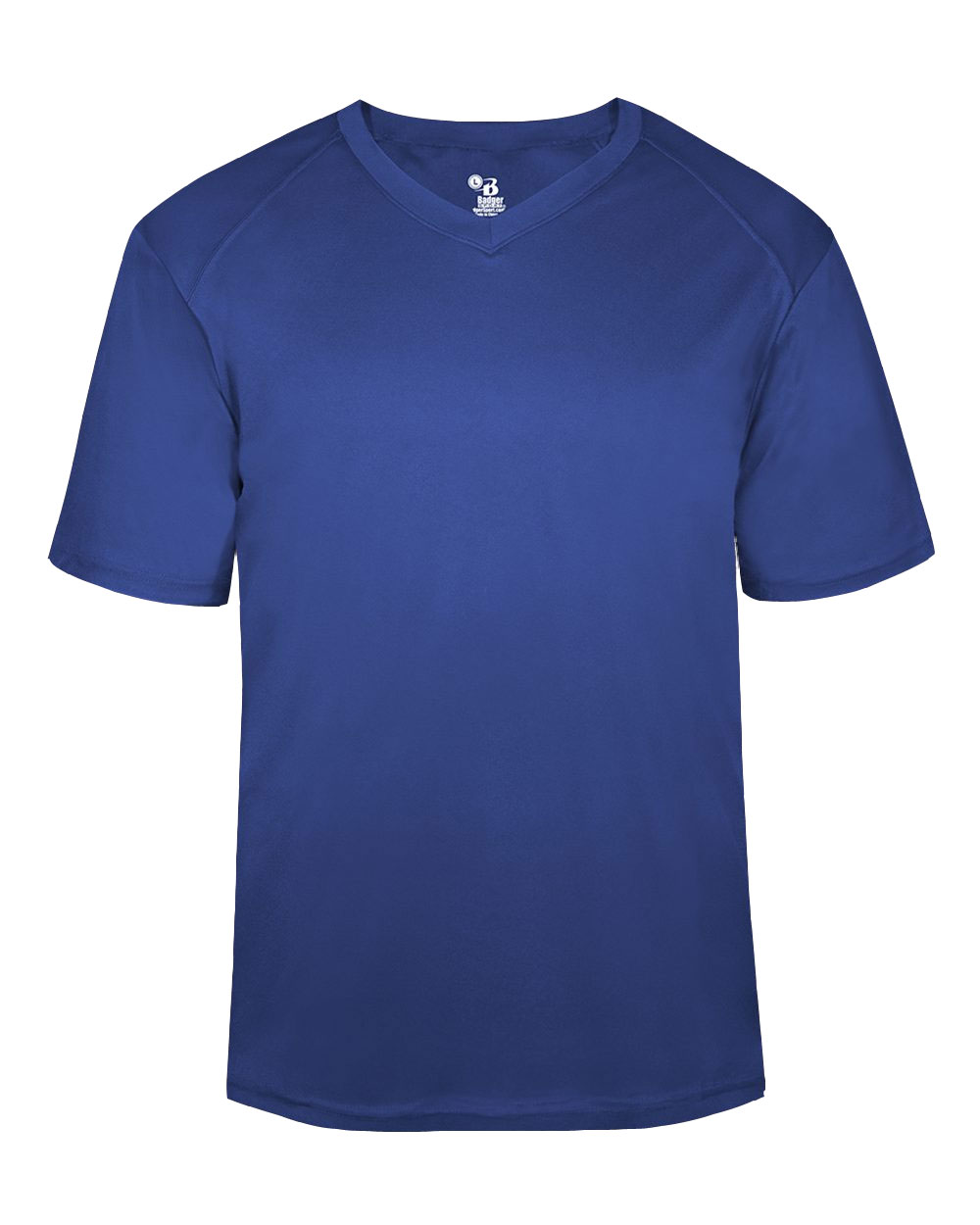 Badger Mens B-Core V-Neck Tee