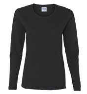 Custom Gildan Ladies Heavy Cotton™ Long Sleeve T-shirt