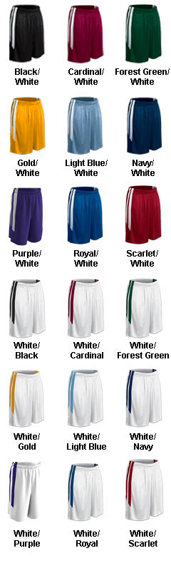 Mens Muscle Dri-Gear Basketball Short - All Colors